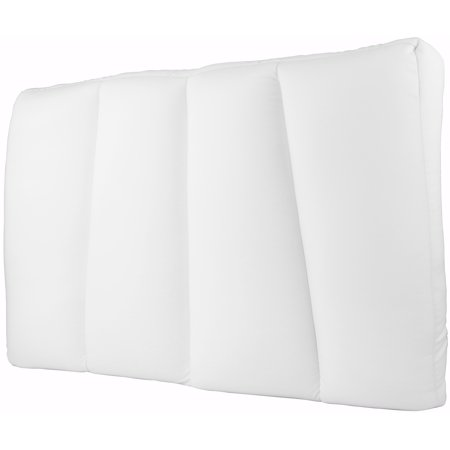 Deluxe Comfort Microbead Cloud Pillow Bed, X-Large, White