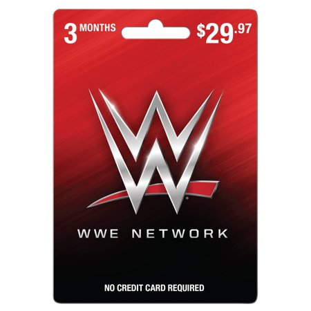 WWE 3 month Gift Card