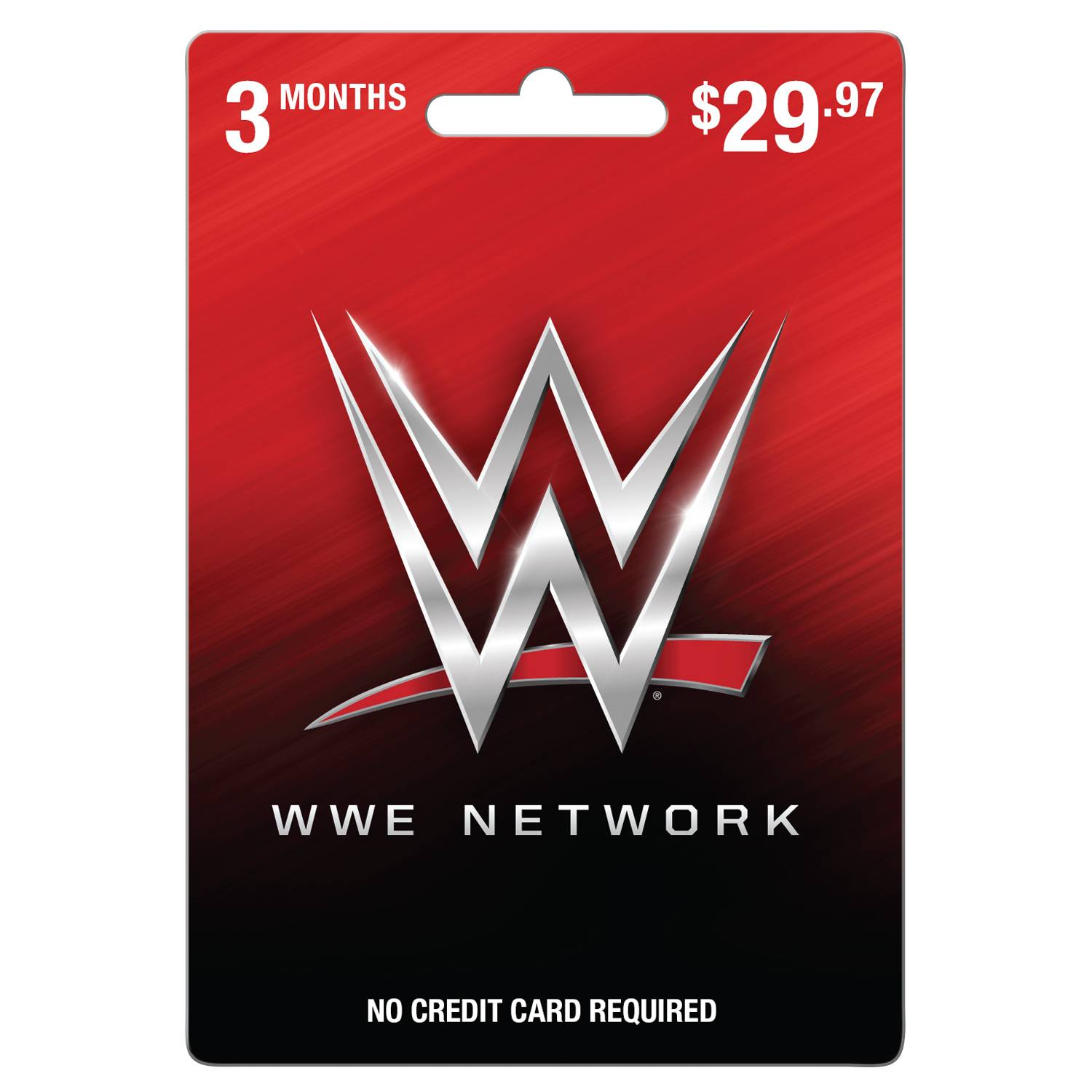 WWE 3 Month Subscription (email delivery)