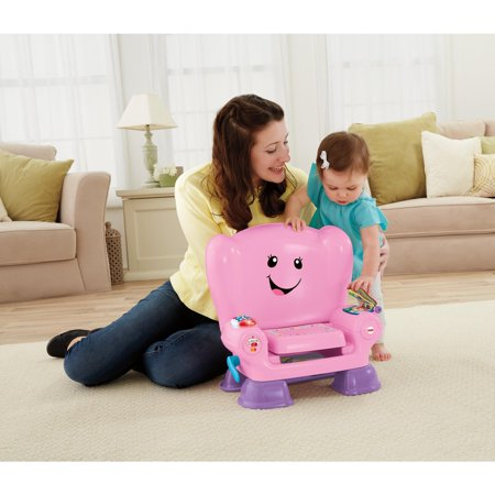 Fisher-Price Laugh and Learn Smart Stages Chair, Pink