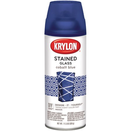 Krylon Stained Glass Paint 11.5oz Cobalt Blue (Cobalt Sonnenbrillen)