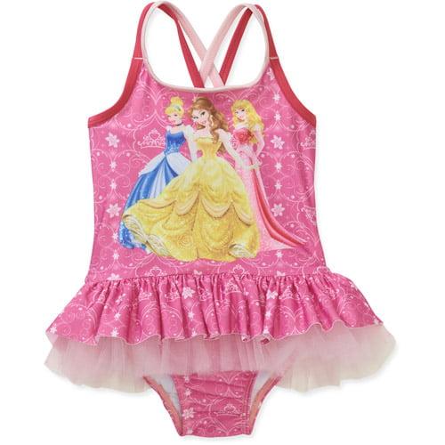 Disney Baby Girls' Princess One Piece Swimsuit