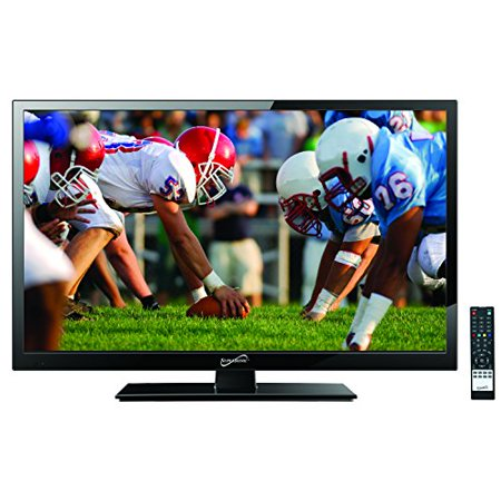 SuperSonic 24-Inch 1080p LED Widescreen HDTV, HDMI Input, AC/DC Compatible (SC-2411)