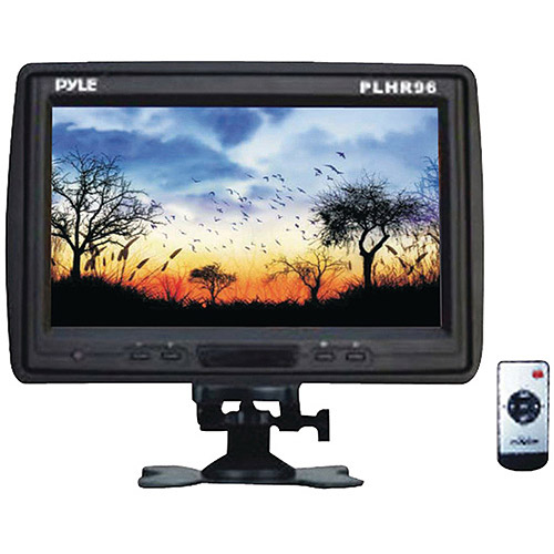 "Pyle PLHR96 9"" TFT LCD Headrest Monitor with Stand"