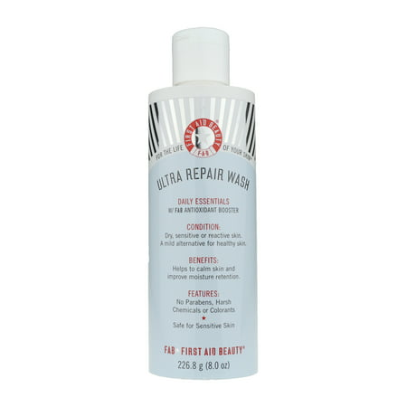 First Aid Beauty Ultra Repair Wash Daily Essentials 8.0Oz/226.8ml