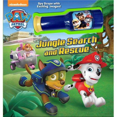 PAW Patrol: Jungle Search and Rescue : Storybook with Spyscope Viewer