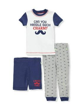 Duck Duck Goose Boys' 3-Piece Pajama Set