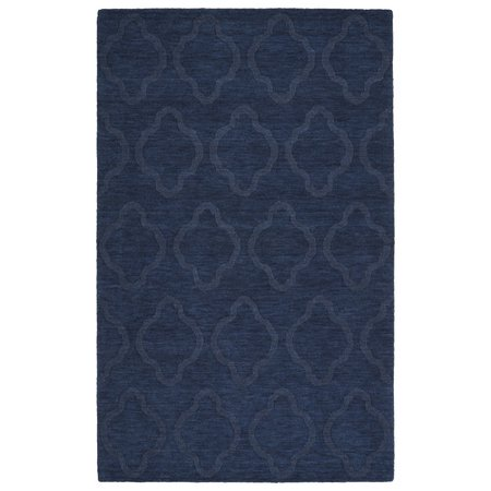 Side Imprint Areas (Kaleen Imprints Modern Handmade Navy Area Rug)