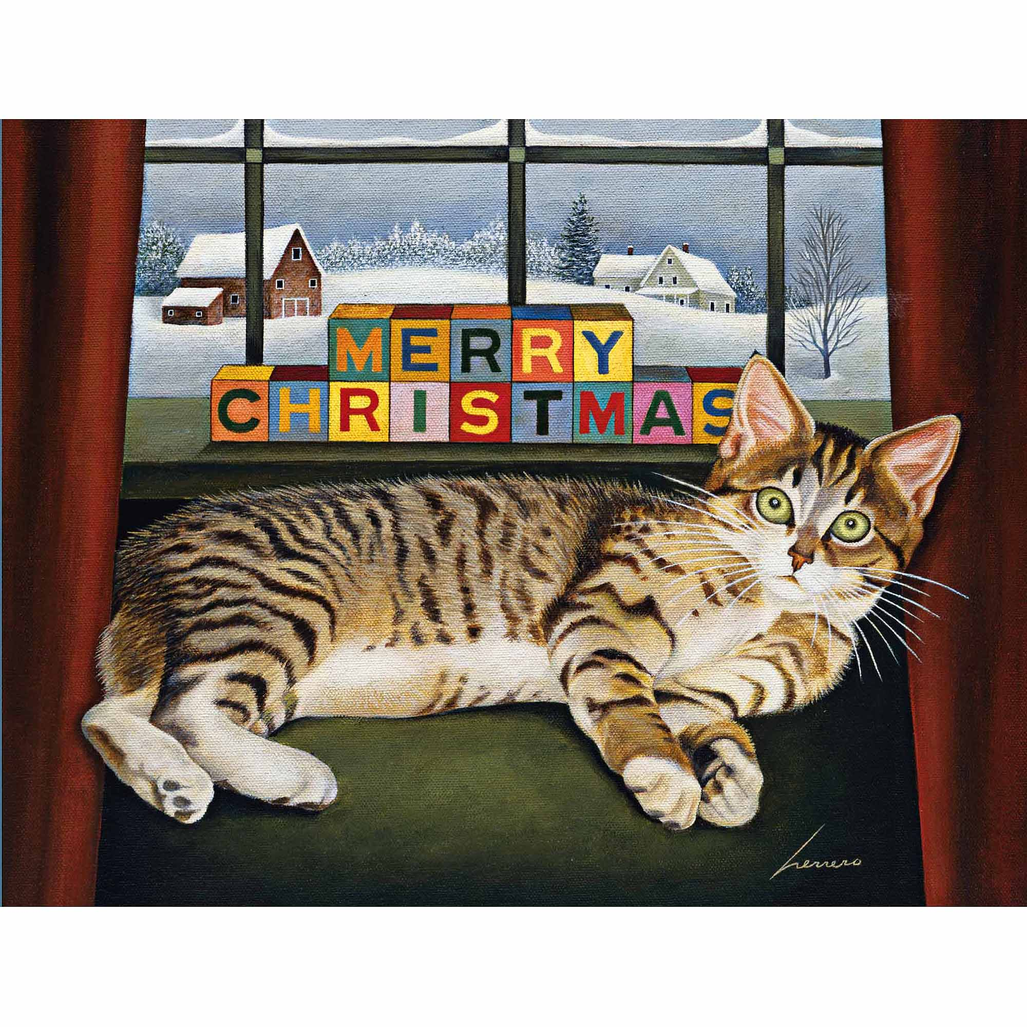 Lucy Mclain Boxed Christmas Card