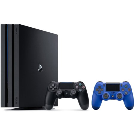 Sony playstation 4 bundle ps4 pro 1tb console 2 dualshock wireless controllers - Playstation 2 console price ...