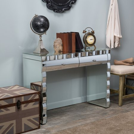 Coyle Mirrored Console Table