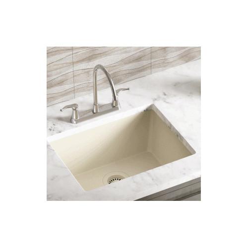 Polaris Sinks 21.63'' x 16.88'' Single Bowl AstraGranite Kitchen Sink