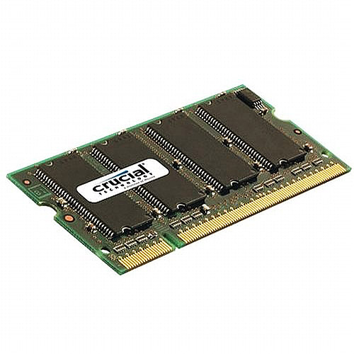 Crucial 1GB 200-pin SODIMM DDR PC2700