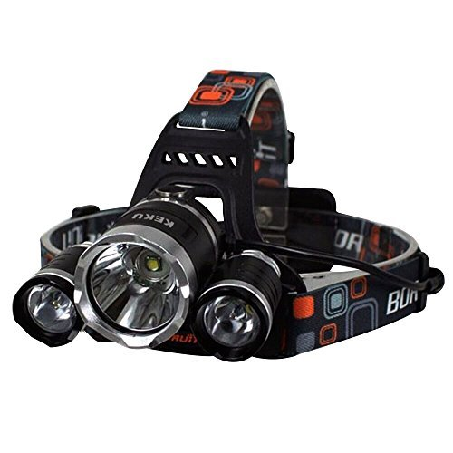 Keku Led High Power Headlamp 5000 Lumens Max Rechargeable