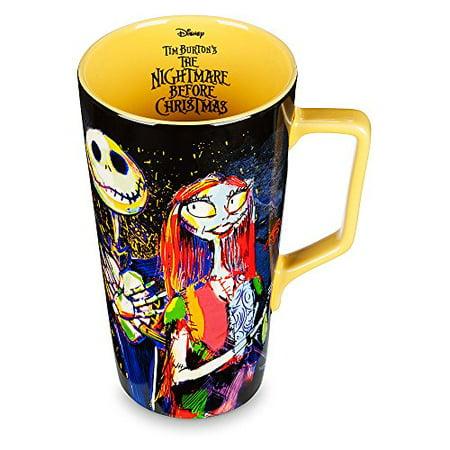 disney nightmare before christmas latte mug