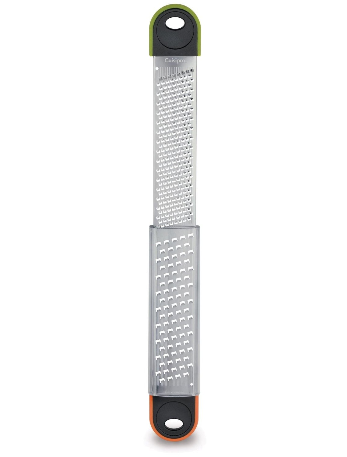 Cuisipro Dual Grater Fine Coarse Rasp Cheese Grater Zester Etched by Cuisipro