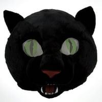 Black Panther Maskimal: Large Wild Animal Plush Head Mask Accessory