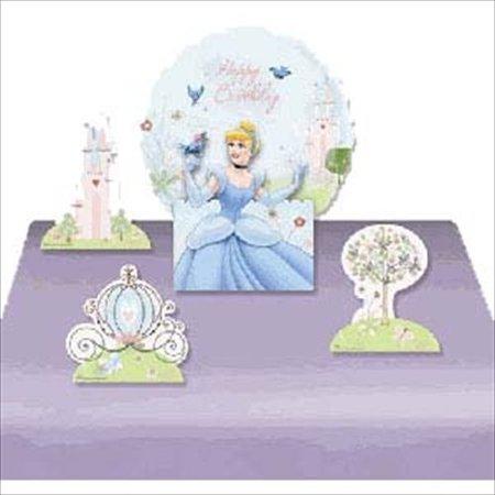 Cinderella 'Dreamland' Mylar Balloon Centerpiece w/ Cutouts (1ct)