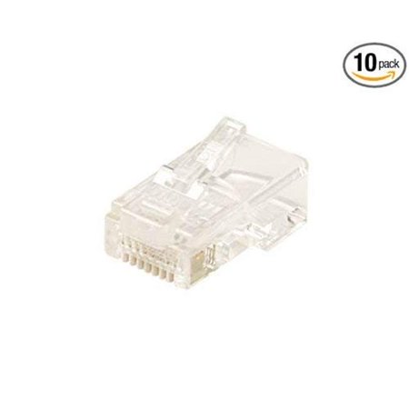 Black Point Products BT-185 10PK Cat-5E 8 x 8 in. Rj45 Modular Plugs - Pack of 10 - image 1 of 1