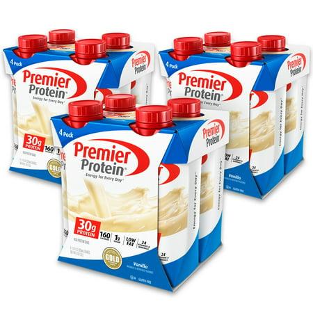 Premier Protein Shake  Vanilla  30G Protein  12 Ct