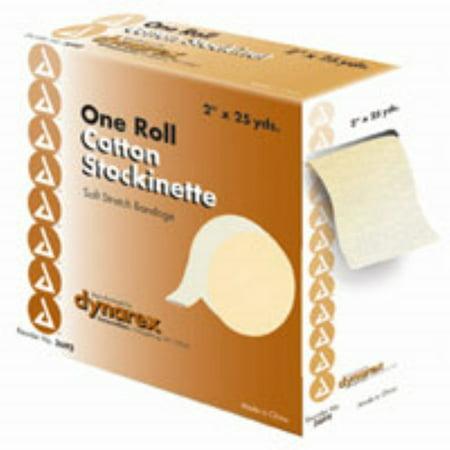 Dynarex One Roll Cotton Stockinette Soft Stretch Bandage 3