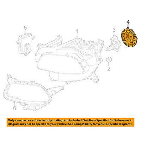 Jeep CHRYSLER OEM 14-17 Cherokee Headlamp-Rear Cover 68226782AA ()