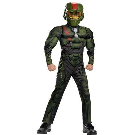 Halo Kids (Halo Wars Jerome Muscle Child Costume, Size)
