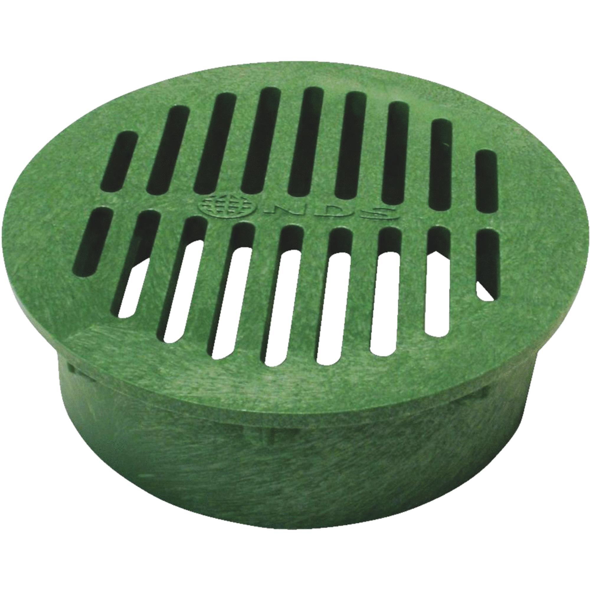 NDS 8 In. Green Round Grate