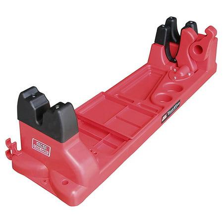 MTM Maintenance Gun Vise, Red (Tipton Best Gun Vise Limited Edition)