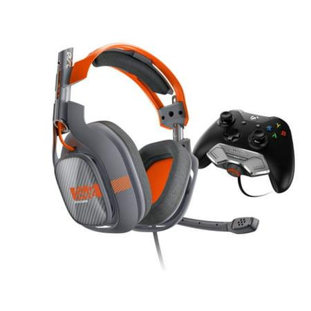 Headset Retail Box - ASTRO A40 Wired Headset + Mixamp M80 (Dark Grey/Orange) - New OPEN BOX