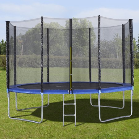 Gymax 12 FT Trampoline Combo Bounce Jump Safety Enclosure Net - image 3 of 10