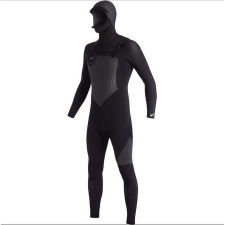 Quiksilver 5/4/3 Synchro Chest Zip HD Full Suit Black