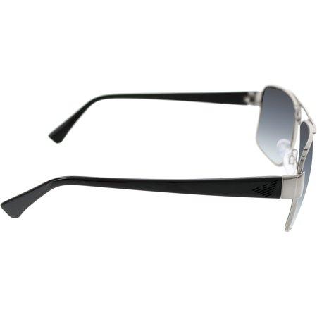 42afc7c47f3 Emporio Armani - Men s EA2002-30168G-57 Gunmetal Square Sunglasses -  Walmart.com