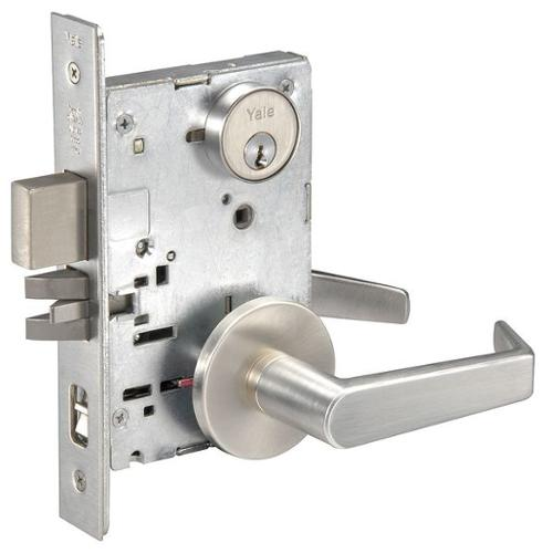 Yale Aucn8867fl X 626 X Yms Mortise Lockset, Apartment, Micro Shield