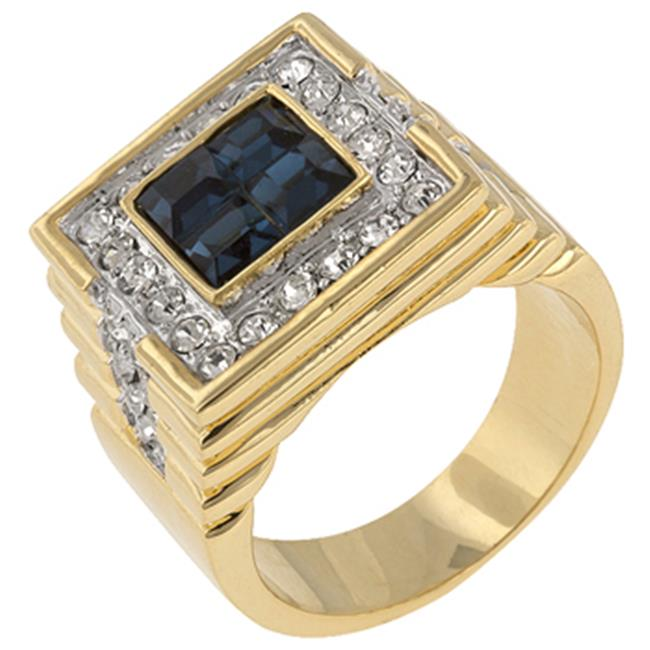 Icon Bijoux R06052T-C30-14 Strong Sea Cz Ring (Size: 14)