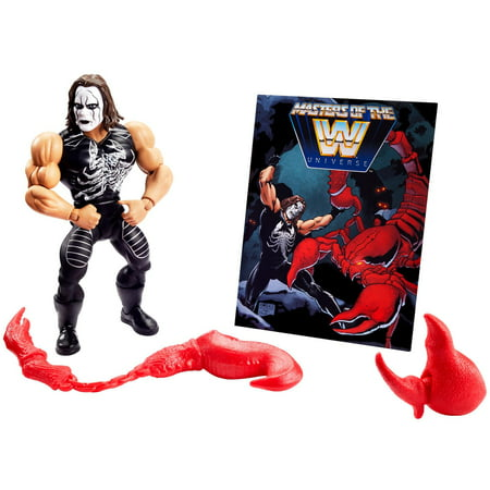 WWE Masters of the WWE Universe Sting Action Figure