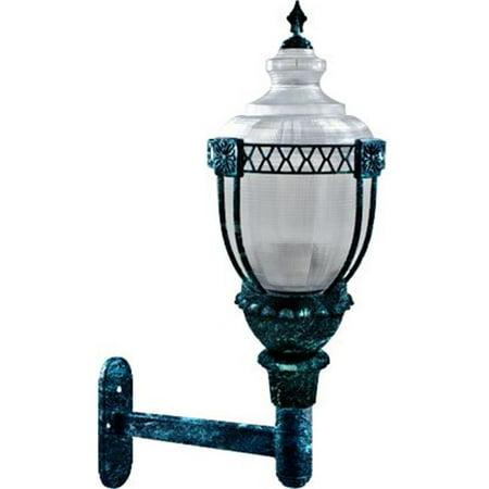 Dabmar Lighting GM670-LED75-VG 75 watt LED Mogul Base 120-277 V Clear Acorn Wall Fixture with Polycarbonate Lens, Black, Bronze & Verde Green - image 1 of 1