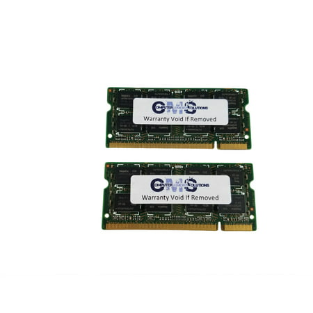 4Gb 2X2Gb Memory Ddr2 Sodimm Ram Compatible Laptop Dell Latitude D630 By CMS (A39)