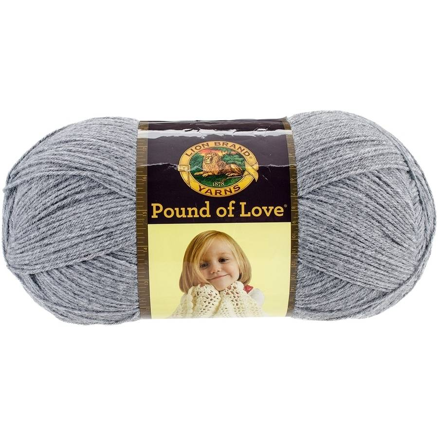 Pound of Love Baby Yarn, Oxford Grey