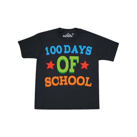100 Days Of School Youth T-Shirt for $<!---->