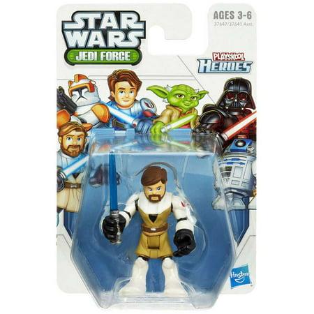 Star Wars Jedi Force Obi-Wan Kenobi Mini Figure