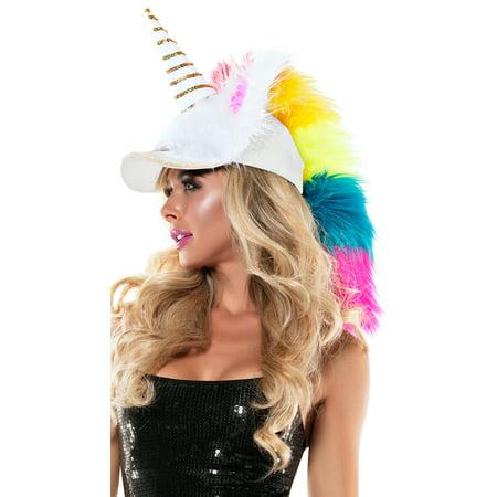 Fuzzy Unicorn Hat, Fuzzy Hat - Fuzzy Panda Hat