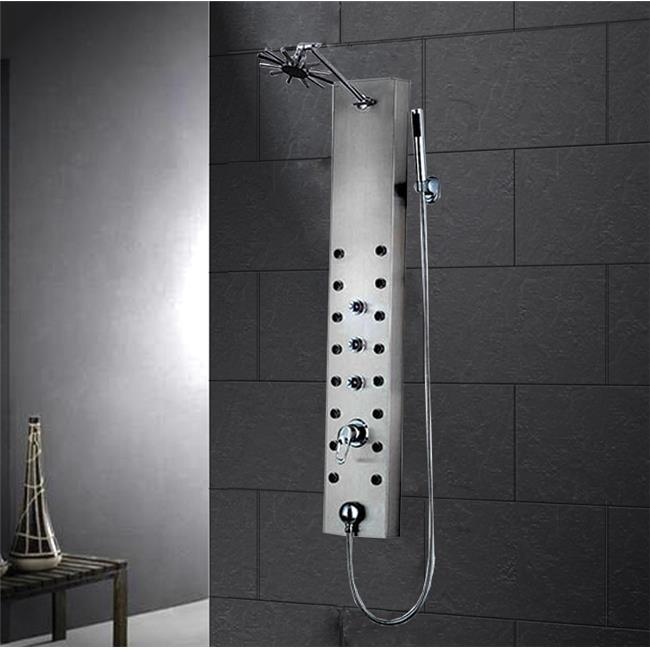 Ariel A303 Stainless Steel Shower Panel With Thermostatic