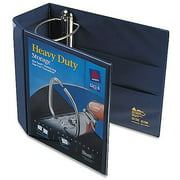 "Avery 5"" Heavy Duty View Binder with EZD Ring, Navy Blue"