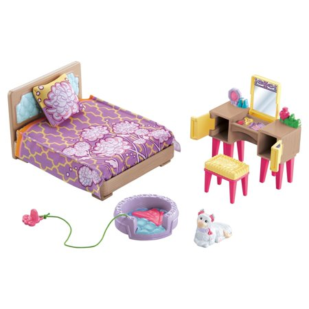 Fisher Price Loving Family Pas Bedroom