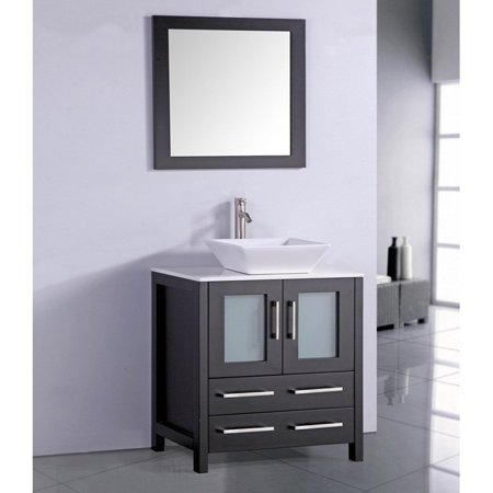 Legion Furniture WA7830E 30-in. Single Bathroom Vanity Set - Espresso