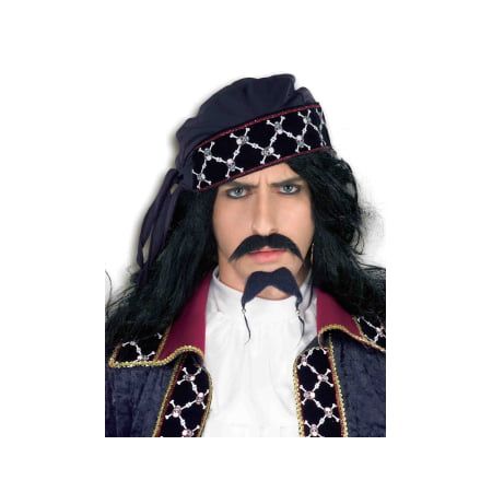 DLX PIRATE BEARD & MOUSTACHE - Pirate Beard