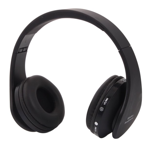 Wireless Headphones Over Ear Segmart Bluetooth Folding Headphones With Mic Stereo Sports Wireless Headset For Iphone Ipad Pc Supports Simultaneous Connection To 2 Devices Black Q5812 Walmart Com Walmart Com