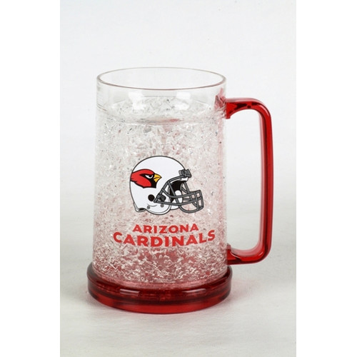 ARIZONA CARDINALS 16OZ CRYSTAL FREEZER MUG
