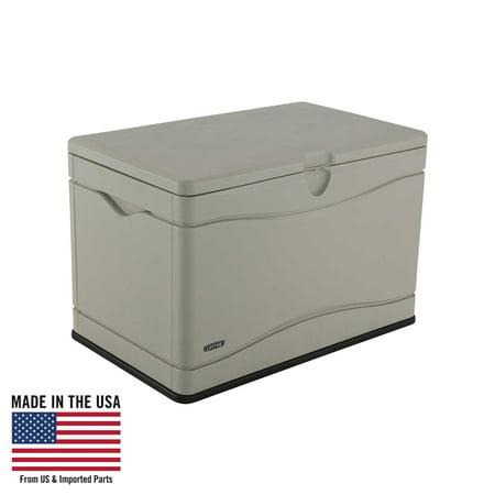 Lifetime Heavy Duty Outdoor Storage Deck Box 80 Gallon 60059